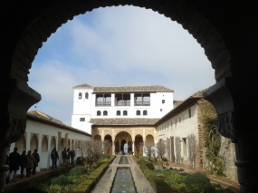 Generalife, The Alhambra Palace, Granada