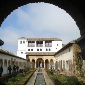 Generalife, The Alhambra Palace, Granada