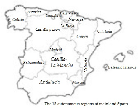 Map Of Spain Drawing.Maps Of Spain Only Spain Boutique Hotels
