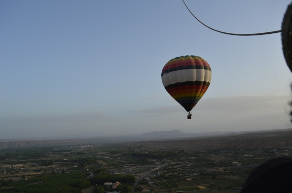 Hot Air Ballooning with GloventoSur over Guadix
