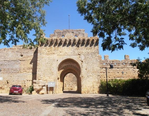 Carmona Parador entrance