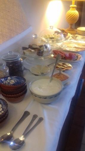 Finca la Fronda, Hotel Breakfast