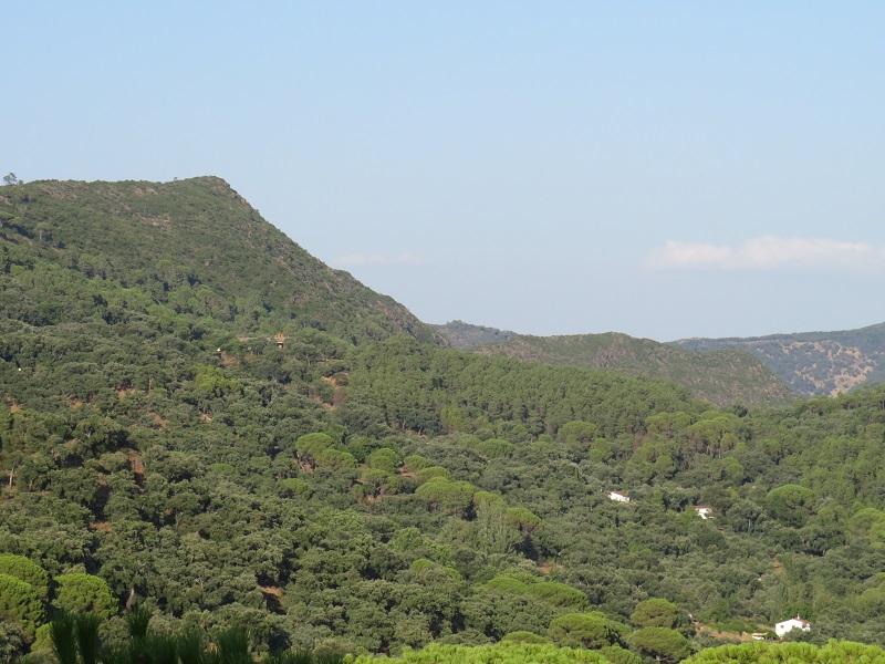 Finca la Fronda, Sierra de Aracena y Picos de Aroche