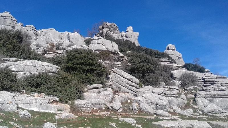 Karst Landscape, El Torcal, Antequera