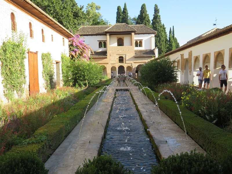 The Alhambra Palace, Generalife Gardens, Granada